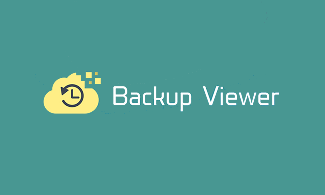 backup viewer - startouch backup